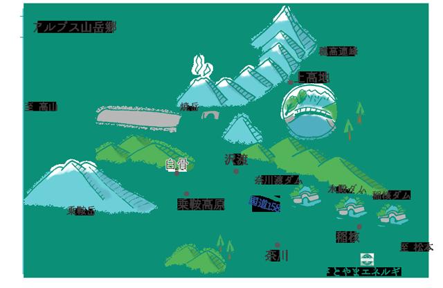 アルプス山岳郷