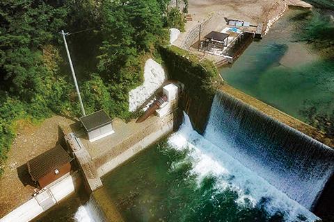 奈川小水力発電所